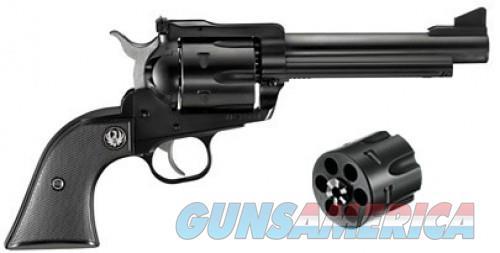 Ruger Blackhawk Convertible Black .45LC / .45ACP 5.5-inch 6rd  Guns > Pistols > Ruger Single Action Revolvers > Blackhawk Type