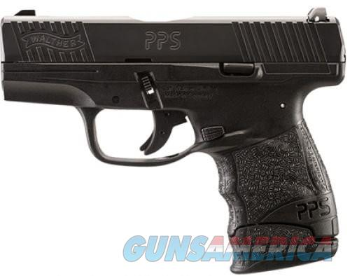 Walther PPS M2 Centerfire Pistol - Black (Compact)  Guns > Pistols > Walther Pistols > Post WWII > PPS