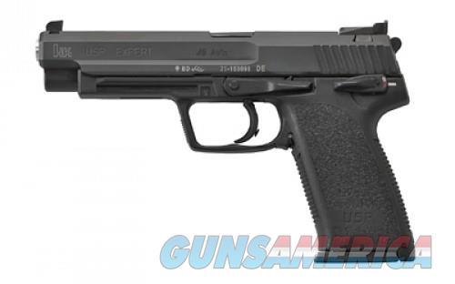 """Heckler & Koch USP Expert 45 Pistol M704580-A5, 45 ACP, 5.19"""", Black Polymer Grips, Black Finish, 12 Rds  Guns > Pistols > L Misc Pistols"""