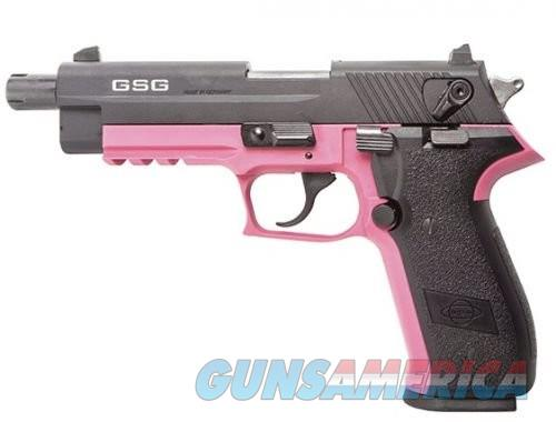 American Tactical Imports GSG FireFly Pink/Black .22LR 4-inch 10rd  Guns > Pistols > L Misc Pistols