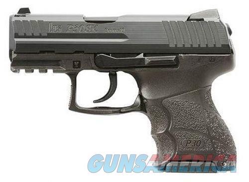 Heckler and Koch P30SK V1 Black 9mm 3.27-inch 10 Rd Light LEM DOA  Guns > Pistols > L Misc Pistols