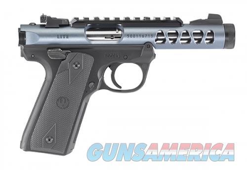 Ruger Mark IV 22/45 Lite .22 LR 4.4 In 10 Rds Gray/Black NON THREADED  Guns > Pistols > Ruger Semi-Auto Pistols > Mark I/II/III/IV Family