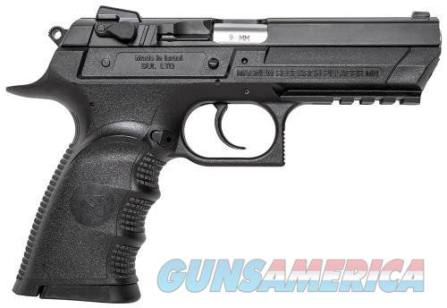 Magnum Research Baby Eagle III  Black 9mm 4.4-inch 16rd Full Size  Guns > Pistols > Magnum Research Pistols