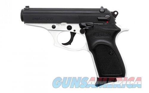 Bersa Thunder 380 Matte Black .380 ACP 3.5-inch 8Rds White Cerakote Frame  Guns > Pistols > L Misc Pistols