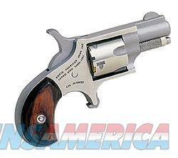 "NAA 22S 22 Short Rosewood Grip Single 22 Short 1.1"" 5 Rosewood Stainless  Guns > Pistols > North American Arms Pistols"