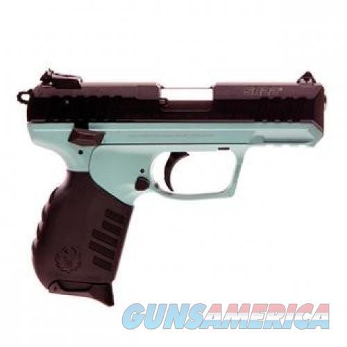 Ruger SR22PB Turquoise Cerakote .22LR 10Rd  Guns > Pistols > L Misc Pistols