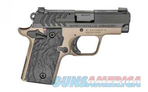 "SPRGFLD 911 380ACP 7RD 2.7"" FDE/BLK  Guns > Pistols > L Misc Pistols"