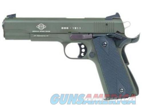 American Tactical Imports M1911 Green .22LR 5-inch 10rd Threaded Barrel  Guns > Pistols > L Misc Pistols
