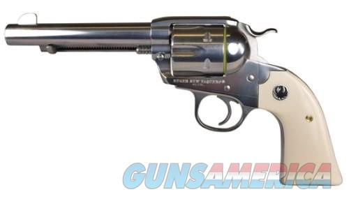 Ruger Bisley Vaquero Stainless .357 Mag 5.5-inch 6Rd Fixed Sights Ivory Grips  Guns > Pistols > Ruger Single Action Revolvers > Cowboy Action