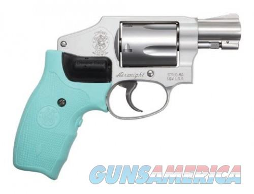 Smith and Wesson 642 38SPC Robin Egg CT Laser 1.875-inch 5Rds  Guns > Pistols > L Misc Pistols