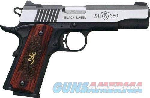 Browning 1911-380 Black Label Pistols (Full Size)  Guns > Pistols > L Misc Pistols