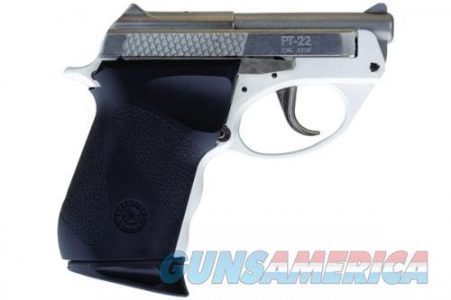 Taurus PT-22 22LR DAO SS/WHT POLY 8Rds 1-220039PLYW  Guns > Pistols > L Misc Pistols