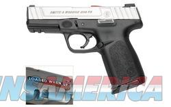 Smith and Wesson SD9VE Stainless / Black 9mm 4-inch 10Rd California Compliant  Guns > Pistols > Smith & Wesson Pistols - Autos > Polymer Frame