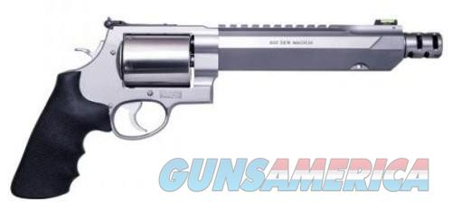 Smith & Wesson 460XVR Performance Center Double Action Revolver .460 S&W Magnum 7.5 Inch 5 Rounds Stainless  Guns > Pistols > L Misc Pistols