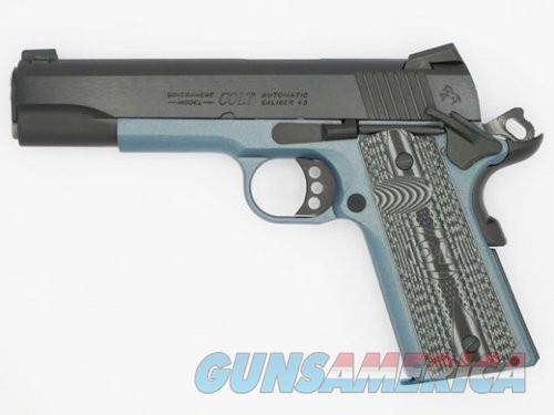 Colt Firearms XSE Lightweight Government Blued .45ACP 5-inch 8rd Blue Titanium Frame  Guns > Pistols > L Misc Pistols