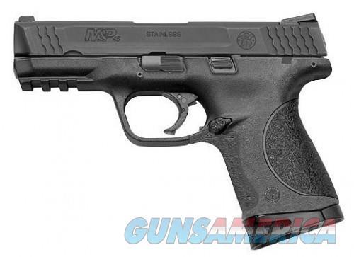 Smith & Wesson Black Compact M&P Semi Auto Handgun .45 ACP 4 Inch 8Rds  Guns > Pistols > L Misc Pistols