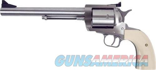 Magnum Research Big Framed Revolver with Bisley Grips Stainless .480 RUG / .475 LIN 7.5-inch 5Rds BFR4804757B  Guns > Pistols > L Misc Pistols
