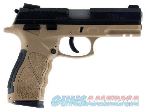 Taurus TH9 Flat Dark Earth / Black 9mm 4.25-inch 17Rds  Guns > Pistols > L Misc Pistols