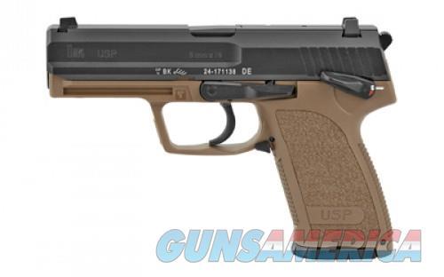 H&K USP 9 9MM FS 10RD FDE CA  Guns > Pistols > L Misc Pistols