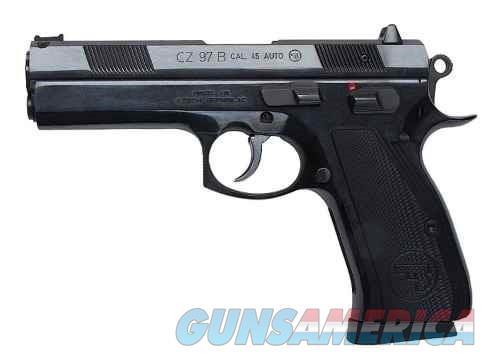 CZ 97 B Black .45 ACP 4.8-inch 10Rd Fiber Sight  Guns > Pistols > L Misc Pistols