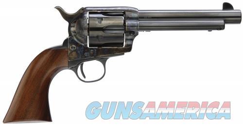 "Taylors 5001DE 1873 Gunfighter Deluxe 45 LC 5.5"" 6 Wood Grip Blued  Guns > Pistols > Taylors & Co. Pistols > Ctg."