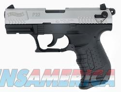 Walther P22-CA 5120336  Guns > Pistols > Walther Pistols > Post WWII > P22