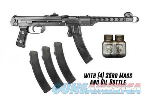"IMG Polish PPS43-C Semi Auto Pistol 7.62x25mm Tokarev 9.8"" Barrel 35 Rounds Black Finish  Guns > Pistols > L Misc Pistols"