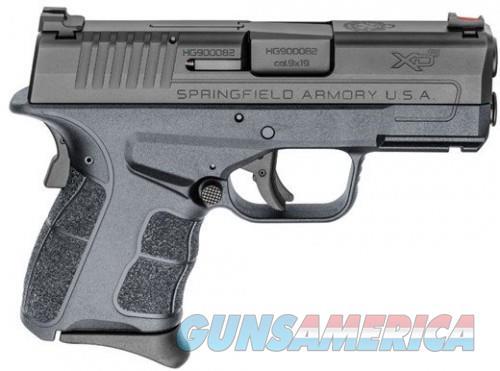 Springfield XDS MOD2 9MM Gray 3.3-inch 8Rds FO Fiber Optic Sight 2 Mags  Guns > Pistols > L Misc Pistols