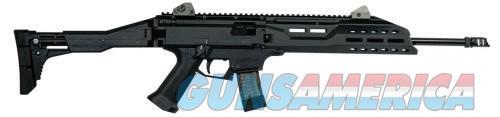 CZ Scorpion EVO 3 S1 Carbine Black 9mm 16.2-inch 20Rd w/ Muzzle Brake  Guns > Rifles > CZ Rifles