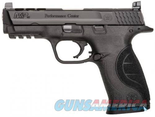 Smith & Wesson M&P40 40SW 4.25 PORTED BLK POLY 15RD  Guns > Pistols > Smith & Wesson Pistols - Autos > Polymer Frame