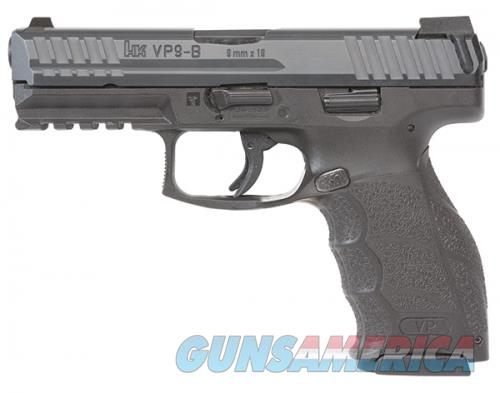 H&K VP9-B 9MM DA 10RD B FS  Guns > Pistols > L Misc Pistols