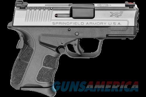 Springfield XDS MOD2 45ACP BK/SS 3.3-inch FO Fiber Optic Sight 2-Mags 45ACP  Guns > Pistols > L Misc Pistols