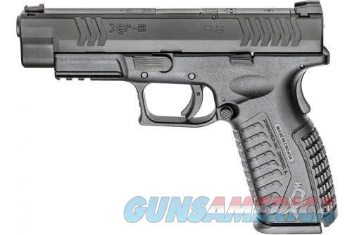 Springfield XD(M) OSP Black 9mm 4.5-inch 19Rd Optical Sight Pistol  Guns > Pistols > L Misc Pistols