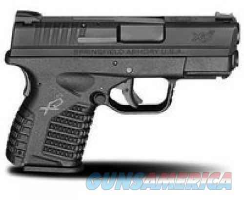 "SPRGFLD XDS 9MM 3.3"" BLK 8RD EDC  Guns > Pistols > L Misc Pistols"