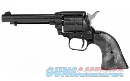 "HERITAGE 22LR BK 4.75"" 9RD BLK PEARL  Guns > Pistols > L Misc Pistols"