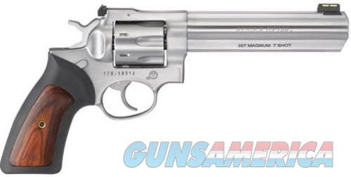 Ruger GP100 Stainless .357 Mag 6-inch 7Rds  Guns > Pistols > Ruger Double Action Revolver > SP101 Type
