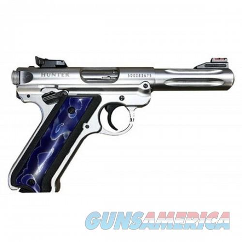 Ruger MARK IV 22LR 4.5 SS RAFFIR 3D GRIPS  Guns > Pistols > L Misc Pistols