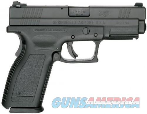 Springfield XD40 Service Black .40 SW 4-inch 12Rd Fixed Sights  Guns > Pistols > Springfield Armory Pistols > XD (eXtreme Duty)