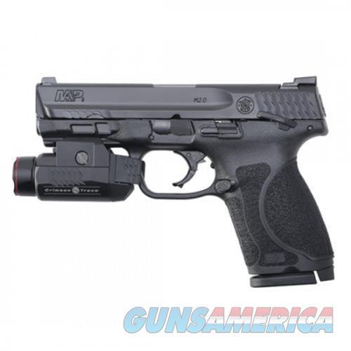 SW M&P9 M2.0 COMPACT 9MM 4 TS CRIMSON TRACE LIGH  Guns > Pistols > L Misc Pistols