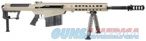 Barrett M107A1 Black / Flat Dark Earth .50 BMG 20-inch 10Rds  Guns > Rifles > Barrett Rifles