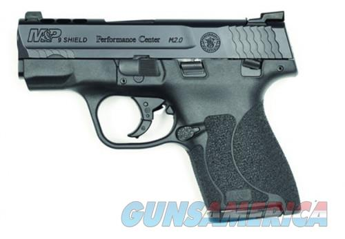 Smith and Wesson M&P9 Shield 2.0 Tritium Sights 9mm 3.1-inch 8Rds Manual Safety  Guns > Pistols > L Misc Pistols