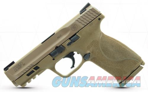 Smith and Wesson M&P40 M2.0 Flat Dark Earth .40 SW 4.25-inch 15Rds  Guns > Pistols > L Misc Pistols