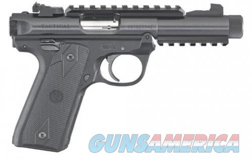 Ruger 22/45 TACTICAL 22LR 4.4 THRD BLK POLY AS OR  Guns > Pistols > L Misc Pistols