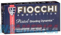 Fiocchi 40SWA Pistol Shooting 40 S&W Truncated Cone FMJ 170 GR 50Box/20Case  Non-Guns > Ammunition