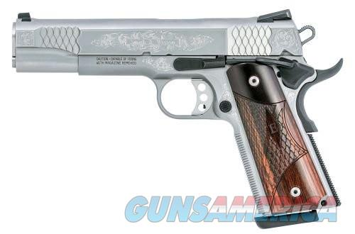 SMITH&WESSON 1911 45ACP 4.25 WOOD GRIPS SS DOT SIGHTS SAO  Guns > Pistols > L Misc Pistols