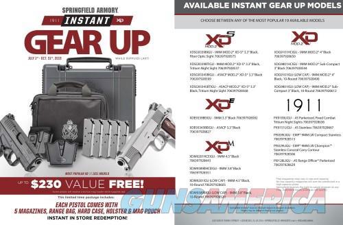 Springfield XDE 45AP DA 3.3B 6/7R GEAR  Guns > Pistols > L Misc Pistols