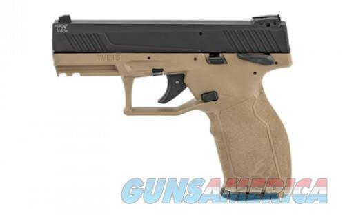Taurus TX22 22LR BLK/FDE 4-inch 16Rds SFTY 1-TX22141F  Guns > Pistols > L Misc Pistols