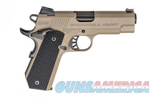"SPRGFLD 9MM EMP CCC FDE 4"" 9RD  Guns > Pistols > L Misc Pistols"