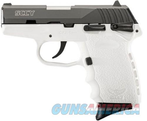 SCCY CPX-1 Black / White 9mm 3.1-inch 10Rd  Guns > Pistols > S Misc Pistols