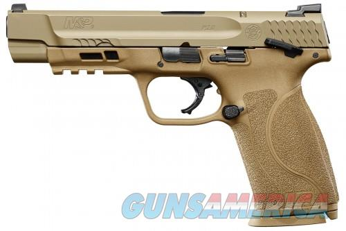 Smith and Wesson M&P9 M2.0 Flat Dark Earth 9mm 4.25-inch 17Rds Night Sights  Guns > Pistols > L Misc Pistols
